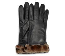 Claic Leather horty Tech Handchuhe für Damen au Leder in Leopard