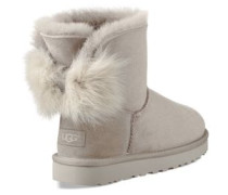 Fluff Bow Mini Classic Boot Damen Willow
