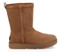 Classic Short Waterproof Boot Damen Chestnut