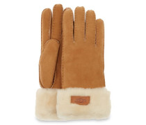 Turn Cuff Handschuhe Damen Chestnut