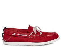 Beach Moc Slip-On Herren Samba Red