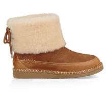 Quinlin Fluff Classic Boot Damen Chestnut