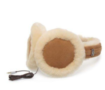 Classic Earmuff With Speaker Technology Damen Chestnut