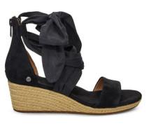 Trina Sandaletten für Damen aus Veloursleder in Schwarz