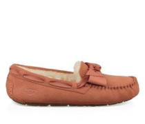 Dakota Leather Bow Damen Vibrant Coral