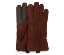 Sheepskin 3Pt Handschuhe Herren Chocolate