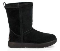 Classic Short Waterproof Boot Damen Black