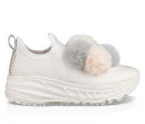 Ugg Dots Runner Slipper Damen White