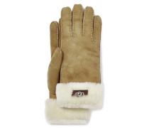 Sheepskin Turn Cuff Glove Damen Chestnut