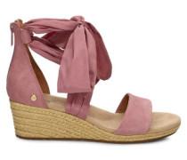 Trina Sandaletten für Damen aus Veloursleder in Pink Dawn