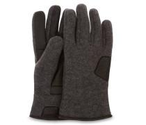 Fabric And Leather Handschuhe Herren Charcoal