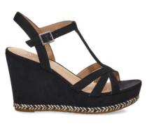 Melissa Sandaletten für Damen aus Veloursleder in Schwarz