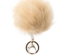 Toscana Pom Charm With Crystal Damen Natural O/S