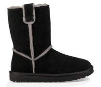 Classic Short Spill Seam Boot Damen Black