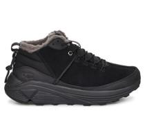 Miwo High Sneaker für Herren aus Veloursleder in Schwarz Tnl