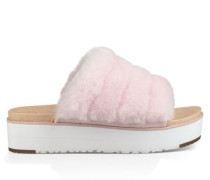 Fluff Yeah Sliders Damen Seashell Pink