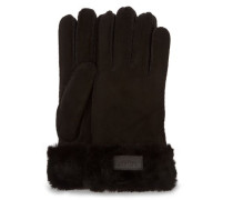 Turn Cuff Handschuhe Damen Black