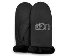 Logo Handschuhe Damen Black S/M