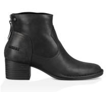 Bandara Ankle Boot Aus Leder Damen Black