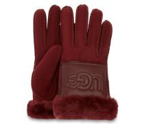 heepkin Logo Handschuhe in Port