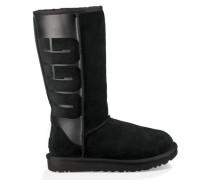 Classic Tall Logo Rubber Boot Damen Black