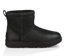 Classic Mini Leather Waterproof Boot Damen Black