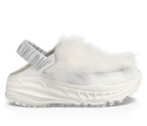 Ugg Fluffy Runner Sneaker Damen White
