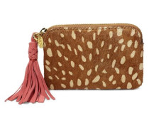 Small Zip Pouch Idyllwild Clutches Damen Chestnut