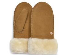 Boys Sheepskin Handschuhe Damen Chestnut 4/6 YRS