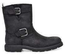 Biltmore Moto Stiefel für Herren aus Leder in Schwarz