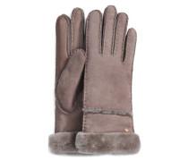 Seamed Tech Handschuhe Damen Stormy Grey