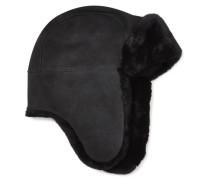 Sheepskin Trapper Hat Damen Black O/S