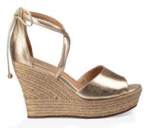 Reagan Metallic Damen Gold