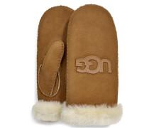Logo Handschuhe Damen Chestnut L/XL