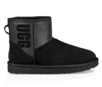 Classic Mini Logo Sparkle Boot Damen Black