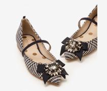 Cordelia Flache Schuhe Navy Damen