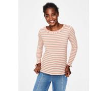 Olive Jerseyshirt Pink Damen