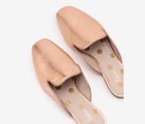Poppy Loafer ohne Ferse Metallic Damen