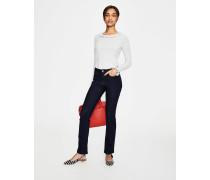 Schmale Marylebone Bootcut-Jeans Blue Damen