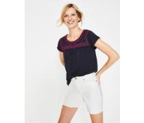 Elisabeth Jerseyshirt Navy Damen