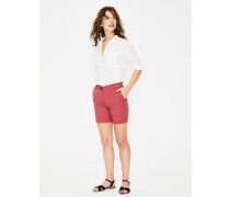 Helena Chinoshorts Red Damen