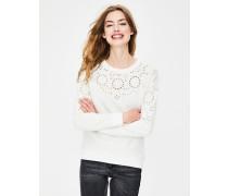 Arabella Sweatshirt Ivory Damen