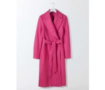 Suki Mantel aus britischem Tweed Pink Damen