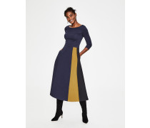 Claudia Ponte-Kleid Navy Damen