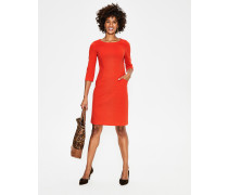 Jasmine Ottoman-Kleid Orange Damen