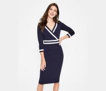 Nellie Ponte-Kleid Navy Damen
