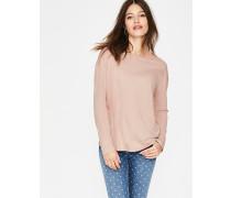 Superweiches Shirt mit überschnittenen Schultern Pink Damen