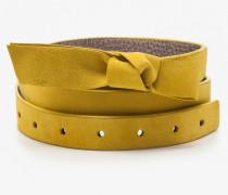 Sena Taillengürtel Yellow Damen