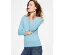Tilda Pullover mit V-Ausschnitt Blue Damen