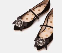 Cordelia Flache Schuhe Black Damen
